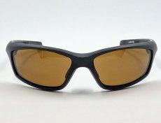 画像6: 偏光レンズ 鼻あて付き バイク シェイド バイク サングラス / ブラウン (6)