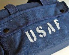 画像6: メカニック ツール バッグ メンズ USAF ロゴ 工具バッグ 工具箱 ROTHCO/ロスコ /ネイビー (6)