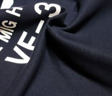 画像8: ミリタリー ポロシャツ 半袖 吸汗速乾 ドライ 米海軍 NAVY 黒猫 / 紺 ネイビー (8)