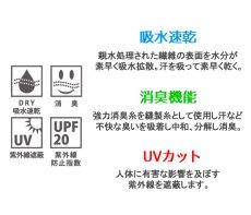 画像11: ミリタリー ポロシャツ 半袖 吸汗速乾 ドライ 米海軍 NAVY 黒猫 / 紺 ネイビー (11)