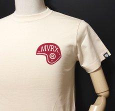画像7: MVRX 半袖 Tシャツ SpeedSter モデル / 生成り ナチュラル バイク 車 プリント (7)