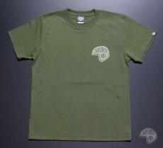 画像9: MVRX 半袖 Tシャツ SpeedSter モデル / アーミーグリーン バイクプリント (9)