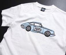 画像7: MVRX 半袖 Tシャツ FLAT6 モデル / 白 ホワイト 車 エンジン プリント (7)