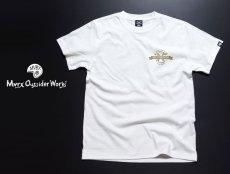 画像3: MVRX 半袖 Tシャツ MOTORHEADS モデル / 白 ホワイト バイク 車 プリント (3)