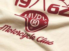 画像6: MVRX 半袖 Tシャツ SpeedSter モデル / 生成り ナチュラル バイク 車 プリント (6)