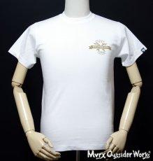 画像10: MVRX 半袖 Tシャツ MOTORHEADS モデル / 白 ホワイト バイク 車 プリント (10)