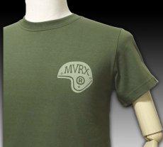 画像7: MVRX 半袖 Tシャツ SpeedSter モデル / アーミーグリーン バイクプリント (7)