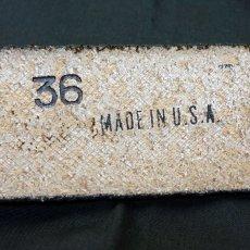 画像5: アメリカ製 レザー ベルト 本革 カービング ベルト 新品 / ブラウン 茶 (5)