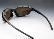 画像3: パット外し可能 バイク サングラス ゴーグル 高機能な スポーツサングラス 新品 / 黒 ブラウン (3)