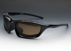 画像5: パット外し可能 バイク サングラス ゴーグル 高機能な スポーツサングラス 新品 / 黒 ブラウン (5)