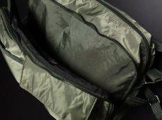 画像6: ミリタリーバッグ ナイロン ショルダーバッグ 大 メンズ 斜めがけ MA-1 タイプ 新品 / オリーブ (6)