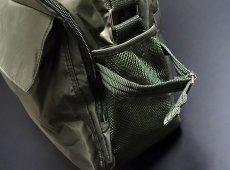 画像5: ミリタリーバッグ ナイロン ショルダーバッグ 大 メンズ 斜めがけ MA-1 タイプ 新品 / オリーブ (5)