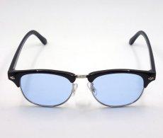 画像6: 送料無料 サングラス レトロ な サーモント クラブマスタータイプ ブラック 黒 ブルー 新品 (6)