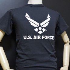 画像4: ミリタリー Tシャツ U.S.AIRFORCE エアフォース オフィシャル ROTHCO ロスコ 社 新品 ブラック 黒 (4)