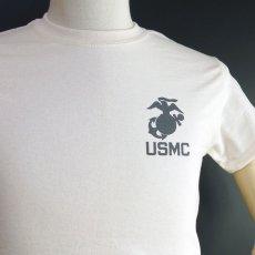 画像7: THE MAVERICKS ミリタリー Tシャツ USMA マリンアカデミー モデル / 生成り ナチュラル (7)
