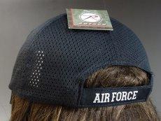 画像4: タクティカル メッシュキャップ 帽子 メンズ U.S.AIRFORCES エアフォース ROTHCO 社製 /黒 ブラック (4)