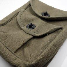 画像4: ROTHCO ロスコ 社 ミリタリー 2ポケット ポーチ 小物入れ キャンバス 新品 オリーブ (4)