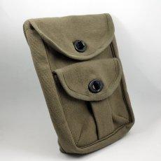 画像2: ROTHCO ロスコ 社 ミリタリー 2ポケット ポーチ 小物入れ キャンバス 新品 オリーブ (2)