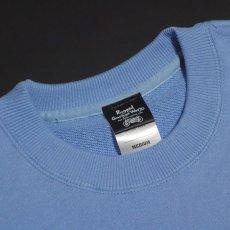 画像5: MVRX 極厚 10oz スウェット トレーナー メンズ ブランド 裏パイル SpeedSterモデル 水色 ブルー (5)