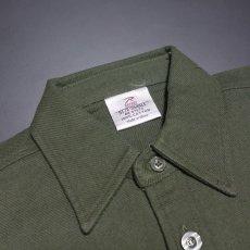 画像6: ヘビーウェイト フランネル シャツ 長袖 メンズ ネルシャツ 綿 ROTHCO ロスコ ブランド オリーブドラブ (6)