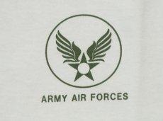 画像4: Tシャツ ミリタリー 半袖  爆弾エアフォース メンフィスベル ロゴT / ホワイト 白 (4)