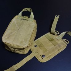 画像6: ユーティリティー バッグ タクティカルポーチ メンズ レディース オーガナイザー 小物入れ MOLLE対応 ミリタリー アウトドア キャンプ (6)
