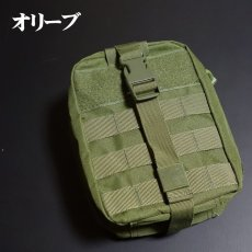 画像12: ユーティリティー バッグ タクティカルポーチ メンズ レディース オーガナイザー 小物入れ MOLLE対応 ミリタリー アウトドア キャンプ (12)