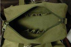 画像4: メカニック ツール バッグ メンズ USAF ロゴ 工具バッグ 工具箱 ROTHCO/ロスコ /オリーブ (4)