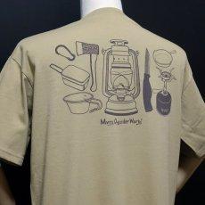 画像7: MVRX ポケット付き ビッグシルエット Tシャツ CAMP GEAR モデル キャンプ Tシャツ カーキ (7)