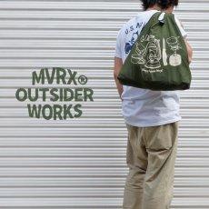 画像3: 新品 ポケッタブル エコバッグ 大容量 MVRX ブランド キャンプ道具 (3)