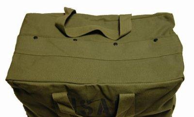 画像2: 大容量 メンズ USAF カーゴバッグ ROTHCO ロスコ 社製 ボストンバッグ 新品 / オリーブ