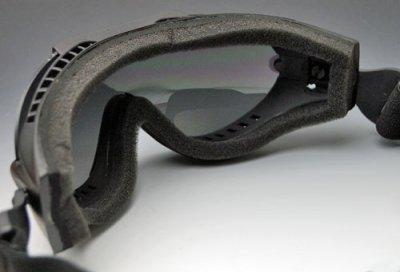 画像2: タクティカル ゴーグル SWAT ロスコ ROTHCO バイク スノボ サバゲー 新品/黒 ブラック