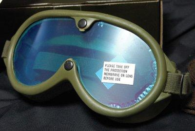 画像1: 米軍 ダスト ゴーグル ビンテージ ミリタリー レンズ2枚付属 ROTHCO 社製 ロスコ 新品/オリーブ