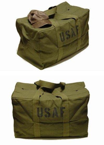 画像1: 大容量 メンズ USAF カーゴバッグ ROTHCO ロスコ 社製 ボストンバッグ 新品 / オリーブ