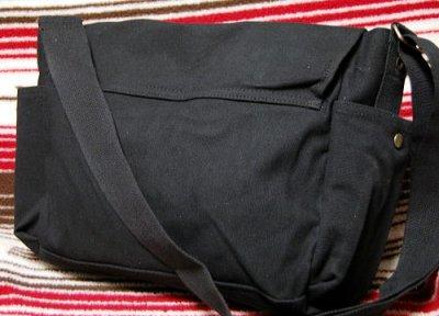 画像1: 大容量 メンズ ショルダーバッグ ROTHCO ロスコ 社製 メッセンジャーバッグ /ブラック 黒