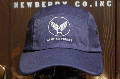 画像1: キャンプキャップ 帽子 ミリタリー エアフォース ROTHCO ロスコ ブランド /ネイビー 紺
