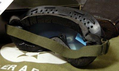画像2: 米軍 ダスト ゴーグル ビンテージ ミリタリー レンズ2枚付属 ROTHCO 社製 ロスコ 新品/ブラック