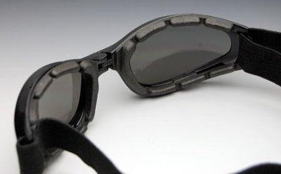 画像2: ゴーグル ミリタリー バイク ROTHCO ロスコ 社製 折りたたみ可能 新品/黒 10367