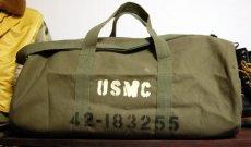 画像1: 大容量 ミリタリー ボストンバッグ ROTHCO ロスコ 社製 USMC ショルダーバッグ 新品/オリーブ (1)