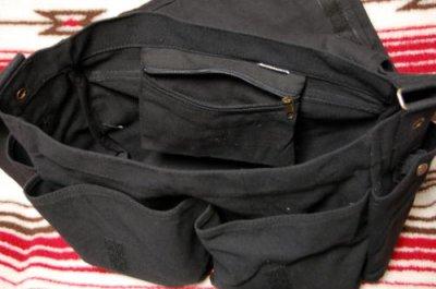 画像3: 大容量 メンズ ショルダーバッグ ROTHCO ロスコ 社製 メッセンジャーバッグ /ブラック 黒