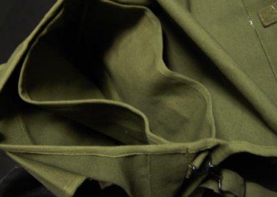 画像2: メッセンジャーバッグ ROTHCO ロスコ 社製 パラシュート部隊 キャンバス地 ショルダーバッグ / オリーブ