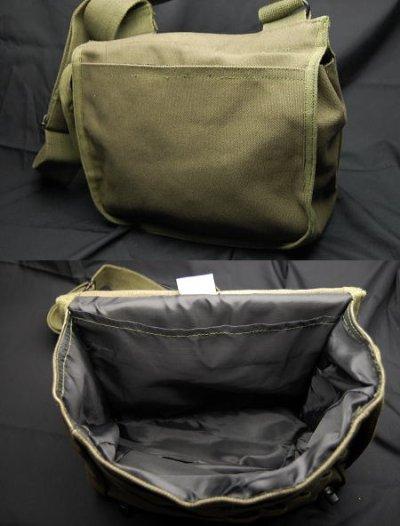 画像2: サバイバルバッグ ROTHCO ロスコ 社製 キャンバス地 メンズ ショルダーバッグ / オリーブドラブ