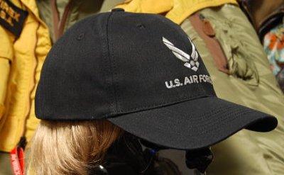 画像1: 帽子 メンズ キャップ ROTHCO ブランド 米空軍オフィシャル ロスコ エアフォース /ブラック 黒