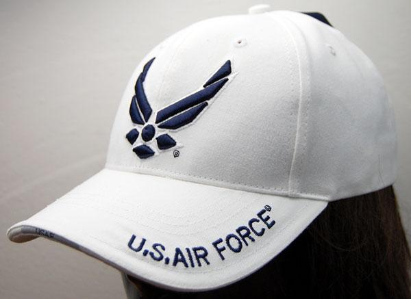 画像1: 帽子 メンズ キャップ ROTHCO ブランド 米空軍オフィシャル ロスコ エアフォース /ホワイト 白 (1)