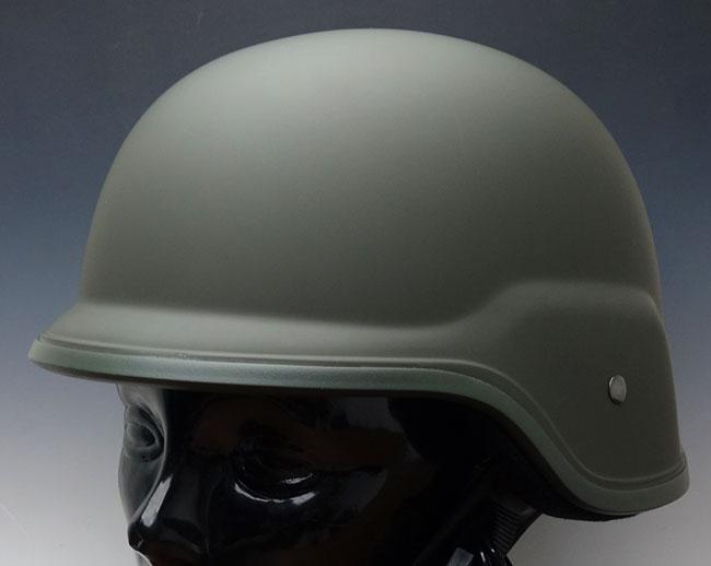 画像1: ROTHCO社・GIタイプ・タクティカルヘルメット・オリーブ (1)