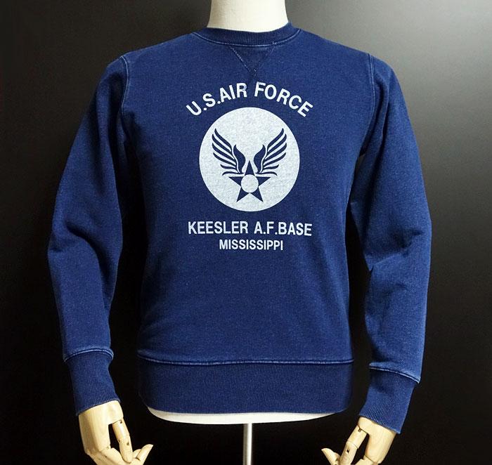 画像1: デニム感 USAFエアフォース・ヴィンテージ仕様・ミリタリートレーナー (1)