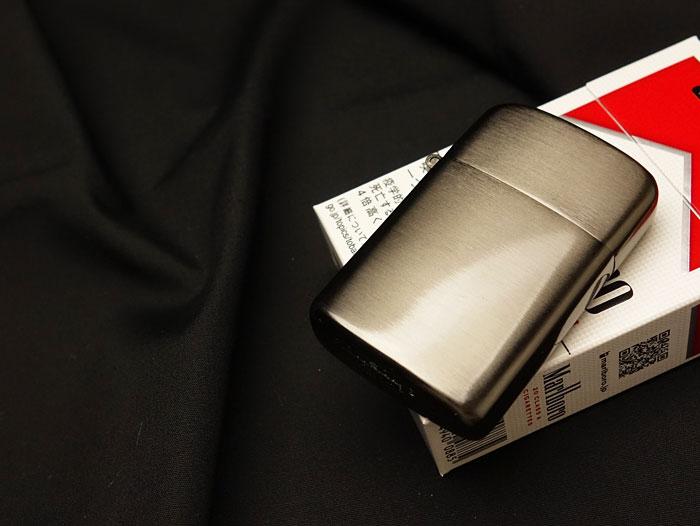画像1: RONSON社「TYPHOON(タイフーン)」モデル・黒ニッケルサテン・箱付 (1)