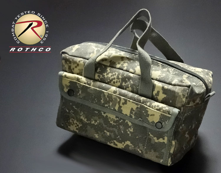 画像1: メカニック ツール バッグ メンズ ACU 工具バッグ 工具箱 ROTHCO/ロスコ /カモフラージュ (1)