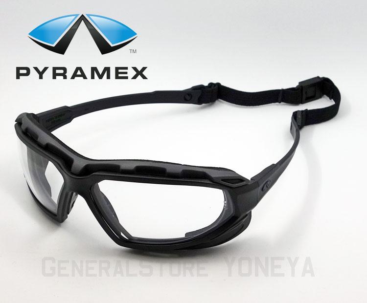 画像1: Pyramex/ピラメックス社 セーフティーゴーグル ハイランダーXP / クリアー (1)