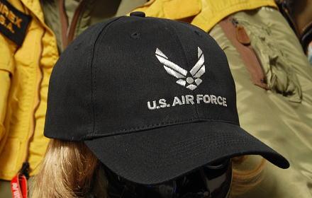 画像1: 帽子 メンズ キャップ ROTHCO ブランド 米空軍オフィシャル ロスコ エアフォース /ブラック 黒 (1)